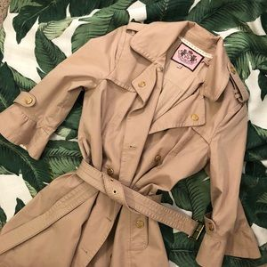 ✨Bell sleeve trench coat | Juicy Couture